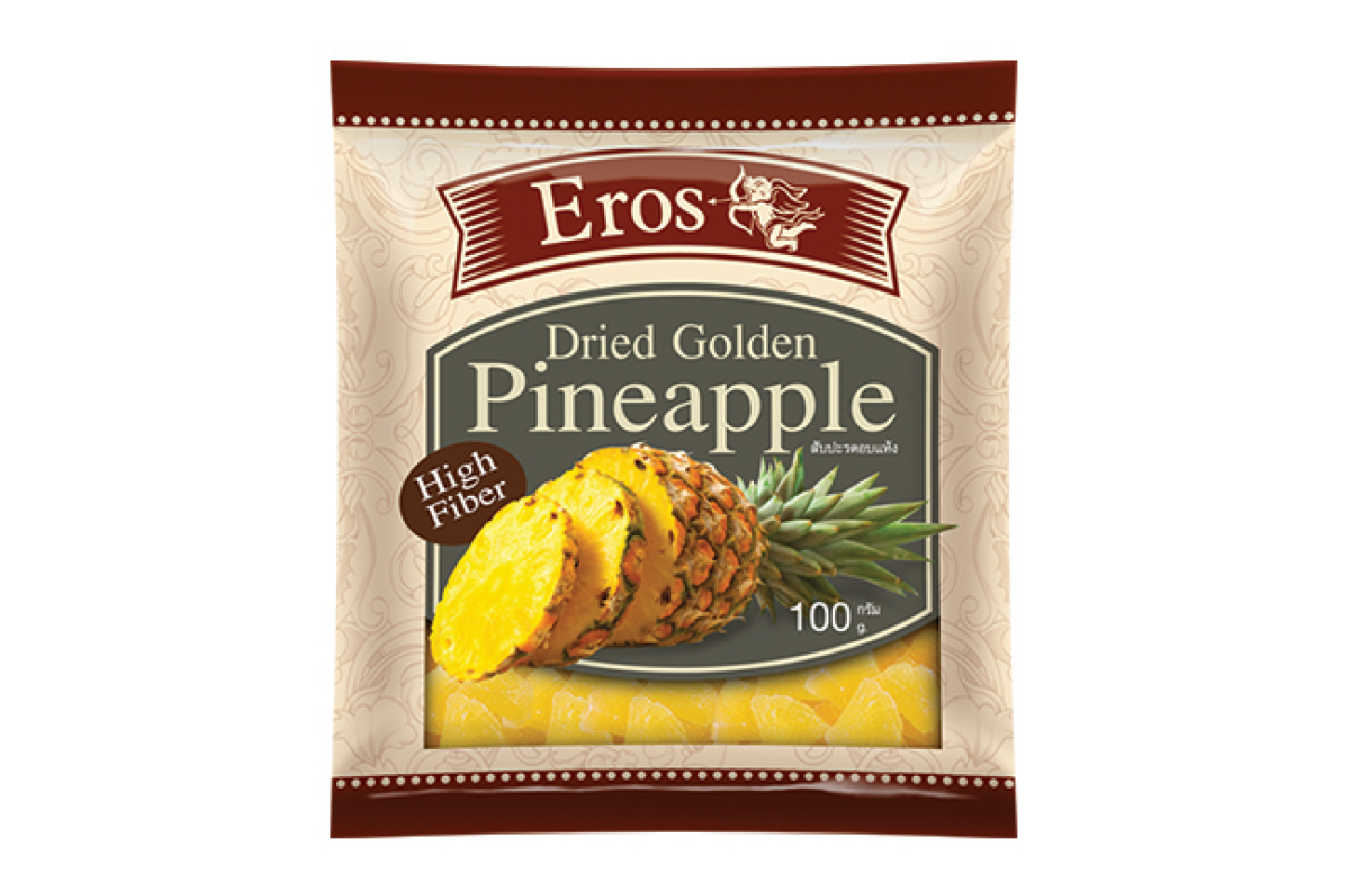 EROS Dried Golden Pineapple